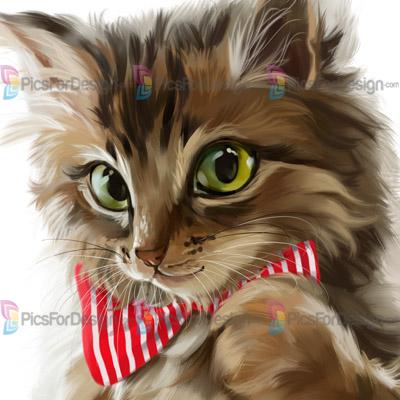 Happy Cat Illustration Store Picsfordesign Com Psp